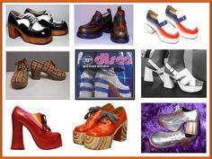 1970's disco footwear