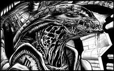 alien warrior by ashasylum.deviantart.com on @DeviantArt