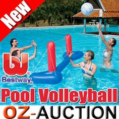 Inflatable Kids Water Pool Toy Volleyball Set