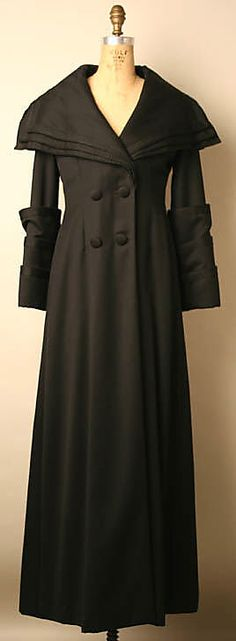 Coat, Evening  Thea Porter     Date:1965–69  I like this! I was too young the first time it was in style! kn