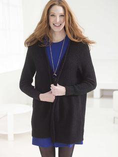 Chic and Sleek Knit Cardigan