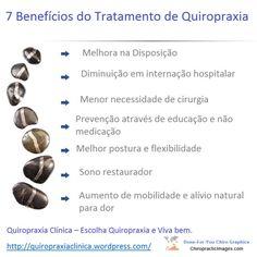 Benefício do Tratamento de Quiropraxia