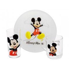 Komplet dla dzieci 3-el. Myszka Mickey LUMINARC Disney