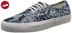 Vans Authentic, Unisex-Erwachsene Sneakers, Blau (indigo Tropical/blue/true White), 42.5 EU (*Partner-Link)
