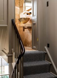 Gold under-mounted bowl, gold tap, creative use of space Terrace, Architects London, Timber Structure, Concrete Steps, Residential Architect, Bathroom Windows, Listed Building, Planning Permission, Georgian Homes