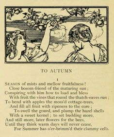 To Autumn John Keats, Tarot, What A Nice Day, John Donne, All Souls Day, Kids Poems, Meaningful Quotes, Vintage Halloween, Aesthetic Pictures