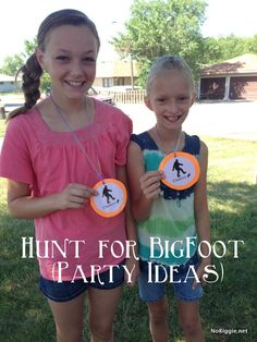 "Great party or theme day activity about Bigfoot! Definitely going to use this for ""Mythical Creatures & Bizarre Beasts"" day."