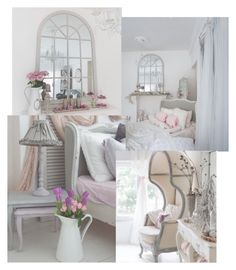 A beauty collage from January 2017 Vanity, Mirror, Polyvore, Furniture, Beauty, Home Decor, Dressing Tables, Powder Room, Decoration Home