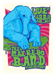 The Max Rebo Band Tour Poster