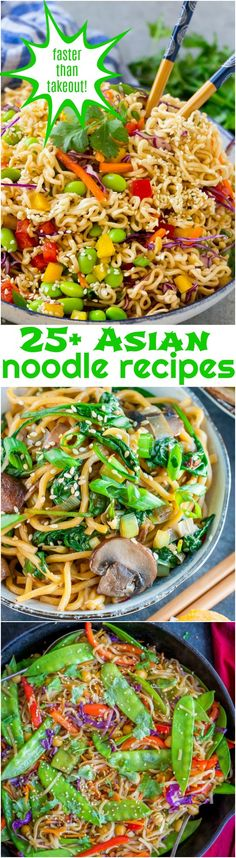 25+ Asian Noodle Recipes that are Easier than Takeout https://www.callmepmc.com/25-asian-noodle-recipes-that-are-easier-than-takeout/?utm_campaign=coschedule&utm_source=pinterest&utm_medium=Paula%20%7C%20CallMePMc.com&utm_content=25%2B%20Asian%20Noodle%20Recipes%20that%20are%20Easier%20than%20Takeout