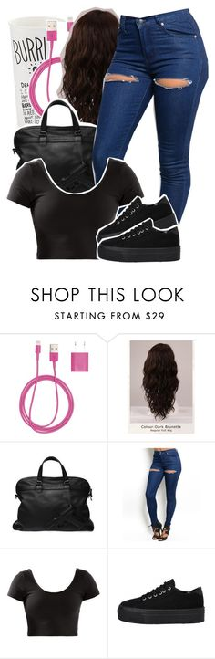 """""""Monster"""" by queen-tiller ❤ liked on Polyvore featuring PhunkeeTree and WigYouUp"""