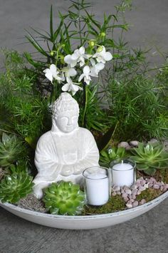 How to Create a Small Indoor Zen Garden