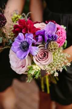 #FallWedding #Bouquet | See the wedding on SMP - http://www.StyleMePretty.com/2014/01/22/fall-blue-hill-farm-wedding/ Tory Williams Photography