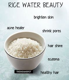 Rice Water is one of the beauty secrets of Japanese Women. Their clean and shiny skin is so adorable and we would definitely love to possess such great skin. However, it is not the case with all Indian skins. We must opt for home remedies rather than those cosmetic products. Rice water can be used
