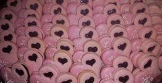 Ružové linecké koláčiky - Receptik.sk Food, Essen, Meals, Yemek, Eten