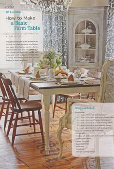 how to build your own farm table - lettered cottage @ layla palmer