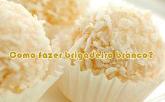 Como fazer brigadeiro branco #comofazer #receitas #brigadeiro #dicas