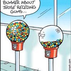 Receding gums are no joke! #HealthyGums