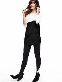Contrast Legging on shopstyle.com
