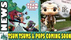 Tsum Tsum & Funko Pop Vinyls Coming Soon |DK News
