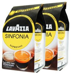 Lavazza Sinfonia Espresso Pack of 2 2 x 16 Coffee pads -- Read more  at the image link.