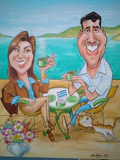 Caricaturist based in Surrey, providing entertainment for wedding receptions, Exhibitions and corporate events. Wedding Caricature, Caricature Artist, Illustrations And Posters, Caricatures, Surrey, Character Concept, Corporate Events, Princess Zelda, Colour