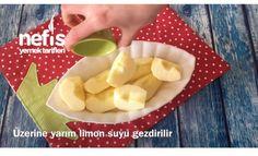 Bisküvili elmalı Dilimler (10dk da)
