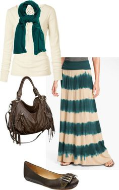 Maxi Skirt Outfits 092