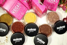 Makeup Geek Vegas Collection Pigments Review by Lily Seymour. Click to see more!
