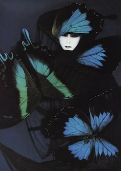 Chintz of Darkness: Metamorphosis. Absolutely going to a prominent spot on the wall gallery!