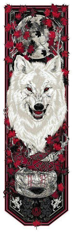 Resultado de imagen para tatuajes de got lobos huargos