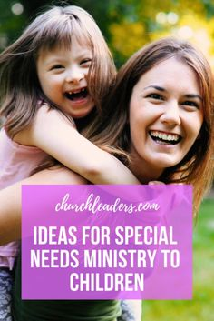 Two seasoned workers offer advice on ministering to special-needs kids. Special Needs Mom, Special Needs Students, Special Needs Kids, Special Friends, Kids Sunday School Lessons, Bible Lessons For Kids, School Kids, Autism Parenting, Parenting Toddlers