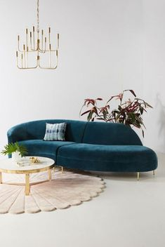 Discover the newest additions to Anthropologie's house & home collection. Shop new furniture, decor, storage & more for your home. Unique Living Room Furniture, Hanging Furniture, New Furniture, Custom Furniture, Living Room Decor, Furniture Design, Office Furniture, Sofa Design, Sofa Colors