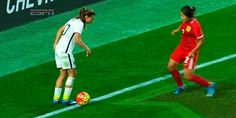 I remember that game vs China! That's just the magic Tobin Heath brings to the team!!! The Nutmeg Queen could get past any player!!!!!