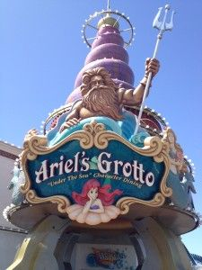 Check out this review on Ariel's Grotto at Disney California Adventure.