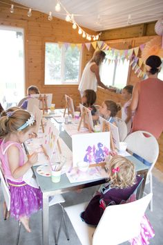 Little Artist Party | Happy 5th Birthday Rowan!!! (via @jenloveskev)