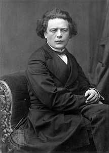 Anton Rubinstein (1829 –1894) was a Russian pianist, composer and conductor who became a pivotal figure in Russian culture when he founded the Saint Petersburg Conservatory.   As a pianist, Rubinstein ranks amongst the great 19th-century keyboard virtuosos. He became most famous for his series of historical recitals—seven enormous, consecutive concerts covering the history of piano music.