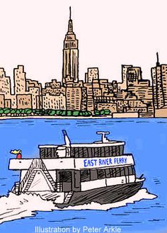 It's a beautiful day in NY to hop the East River Ferry. Best views that the tourists don't know about for just $4.
