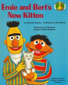 Ernie and Bert's New Kitten (Sesame Street Start-to-Read Book)
