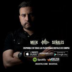 "Ya agregaste ""Señales"" a tu #playlist en Spotify o Deezer? Comprala en #Itunes, #Googleplay o #Amazon. Mira su #video #Lyric en #youtube, buscalo como #Diosfiel #Meekoficial #new #single #electro #rock #rotación #rockear #redes #plataformas #digitales #digital #news #music #musica #Latinoamérica #América #Europa #amigos #canal #enjoy #life #gira #medios #radio #sencillo #metas #like #megusta #facebook #seguir  #play #vistas #agregar"