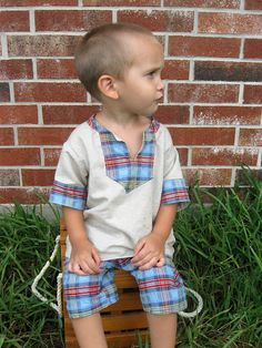 Sewing for boys----yay a free pattern