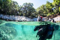 A unique diving location in Skopelos... Amarandos!  Μια μοναδική τοποθεσία για καταδύσεις στη Σκόπελο... Αμάραντος!  www.skopelos.gr  #skopelos #visitskopelos #apieceofyourheart #apieceofyourart #visitskopelosisland #sporades #visitsporades #sporadesislands #greece #dive #weddings #honeymoon #hiking #ecology #beaches #greek #vacation #holidays #mamamia #travel #visitgreece #Paddling Activities, Mountains, Nature, Travel, Viajes, Traveling, Nature Illustration, Off Grid, Trips