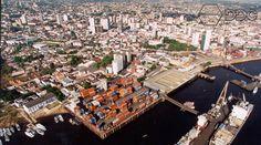 Porto de Manaus. Arquivo do Museu Amazônico.