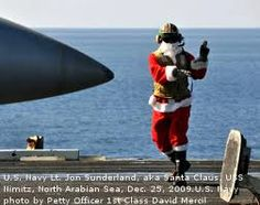 Celebrating Christmas -- US Navy style!