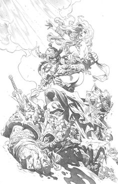 Conan: The Frost Giants Daughter by Tomás Giorello Comic Art