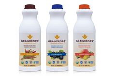 What is a dairy-free probiotic beverage? In the case of GrainDrops, it is pure drinkable yogurt with traditional flavor and abundant gluten-free nutrition.