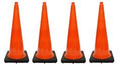 """4 PCS Traffic Cones Deal (36"""" HT)"""