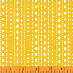 Lily Gonzalez - Farm to Fork - Stripe - Yellow : Sew Modern
