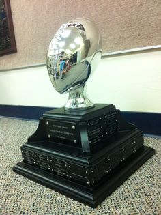 It's Fantasy Football season! Make sure your people are motivated -- get a fantasy football trophy from Frank Jones Trophies.