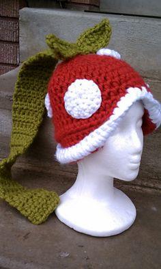 Ravelry: Deadly Flower pattern by Heidi Yates Love Crochet, Crochet Flowers, Knit Crochet, Crochet Things, Crochet Crafts, Yarn Crafts, Crochet Projects, Crochet Beanie Hat, Knitted Hats